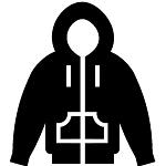 Kapuljača džep zip